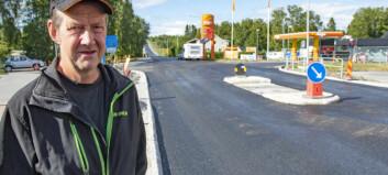 Ny refug i Oviken försvårar för tunga trafiken