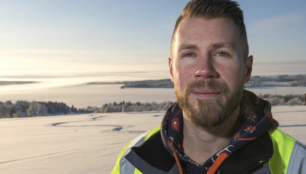 - Nu är isvägen mellan Håkansta och Norderön öppen. Så man kan åka från Isön via Norderön till Håkansta, säger Alexander Lindholm distriktschef för Trafikverkets färjerederi i Jämtland.