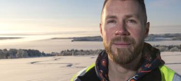 Isvägen öppen mellan Håkansta och Norderön