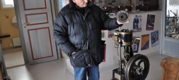 Ångbåtsmaskinister utbildas i Arvesund