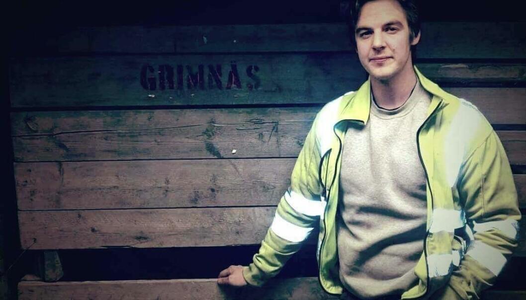 Johan Wikström driver företaget Grimnäs potatis.