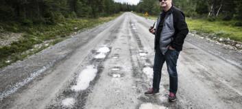 Gunnar körde sönder husbilen mellan Persåsen och Börtnan