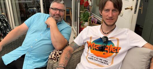 Succé för Peder och Wemer - drog in pengar till Hede folkpark