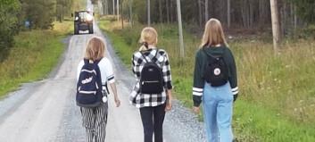Föräldrar kritiska till nya riktlinjer för skolskjutsen i Åre – barn får gå 8 km