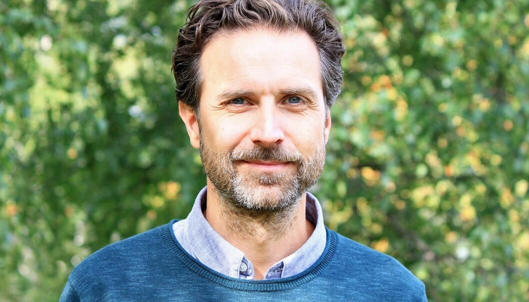 Olof Ekerlid, kanalchef och ansvarig utgivare P4 Jämtland.