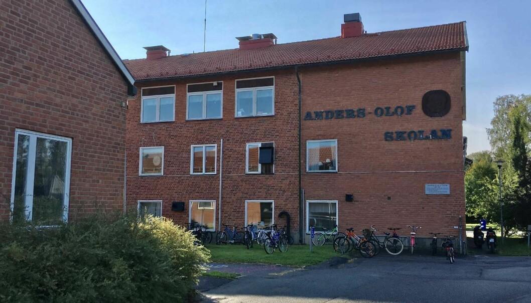 Anders Olof-skolan i Hammarstrand är en av skolorna som har haft problem med skadegörelse och brandtillbud. Ragunda kommun vill därför undersöka möjligheten till kameraövervakning av skolgården.