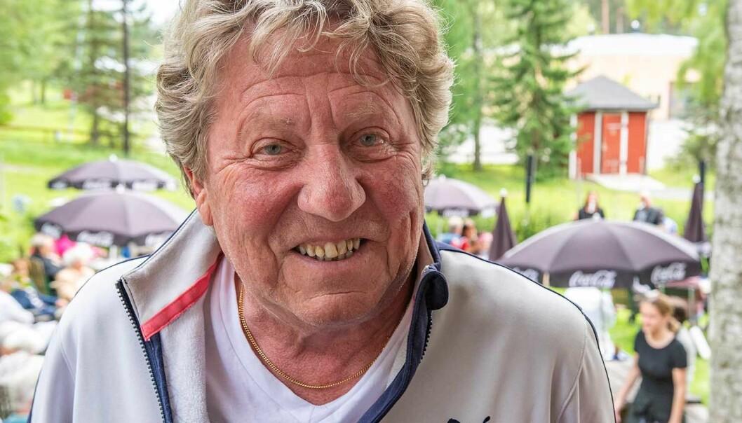Kjells sista dag på Cafét i Björkbackaparken. Foto Johannes Adolfsson