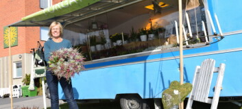 Hon satsade på mobil blomsterhandel