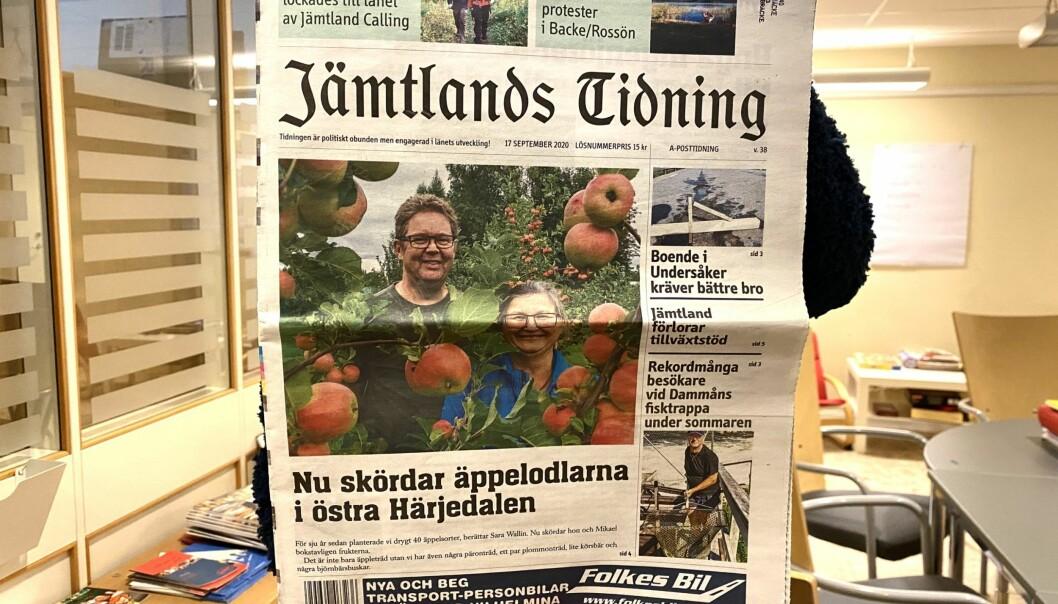 Jämtlands Tidning ska finnas i läsarnas brevlåda varje torsdag, men nu reagerar läsare över den många gånger bristande distribueringen av Postnord.