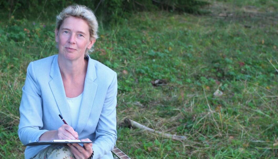 Programledaren Linda Forss. Foto Manne Ring