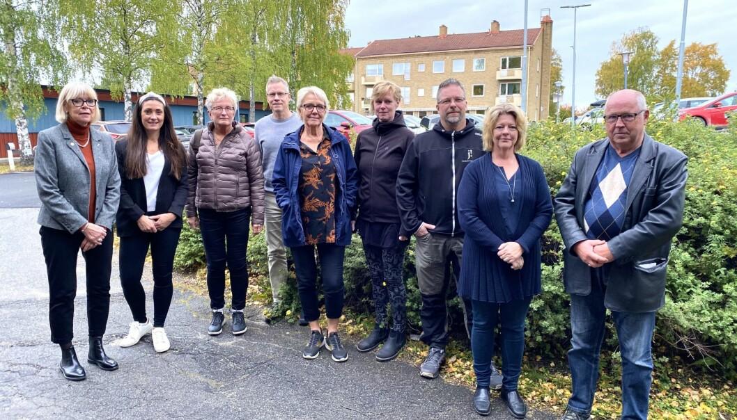 Det brottsförebyggande rådet i Bräcke träffas ungefär fyra gånger per år. Där finns polis, politiker, socialtjänst, skola och alla andra delar i samhället representerade.