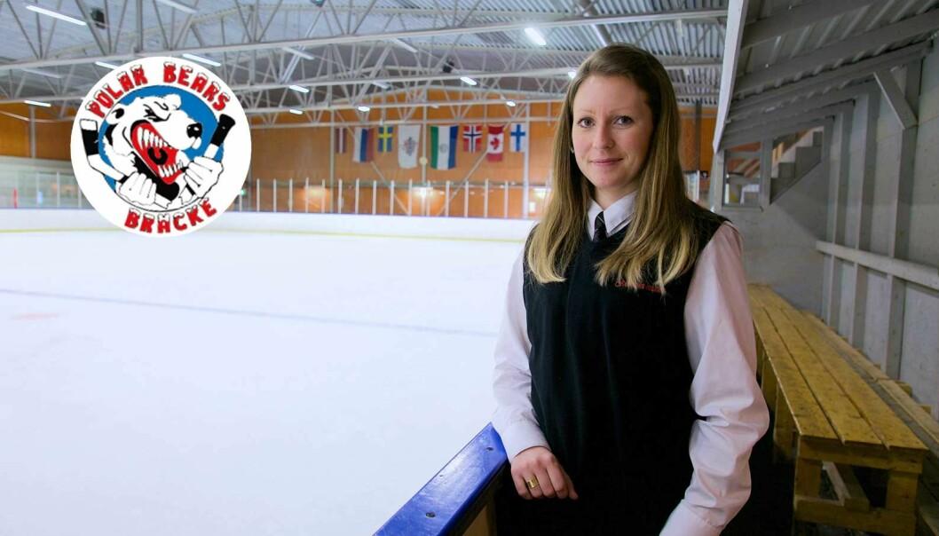 """Bräcke IK lägger ner A-lagsverksamheten. """"Det drabbar hela föreningen. Det är viktigt för våra yngre spelare att ha ett a-lag att se upp till"""", säger Nathalie Owen, ordförande i Bräcke IK."""