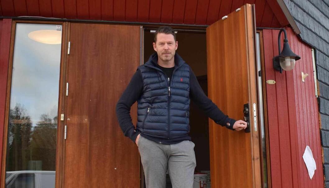 Den 11 december öppnar Trangias butik/museum/webbshop i Trångsviken, med långsida mot E14. Men en hel del jobb återstår ännu, förklarar VD Magnus Rydell.