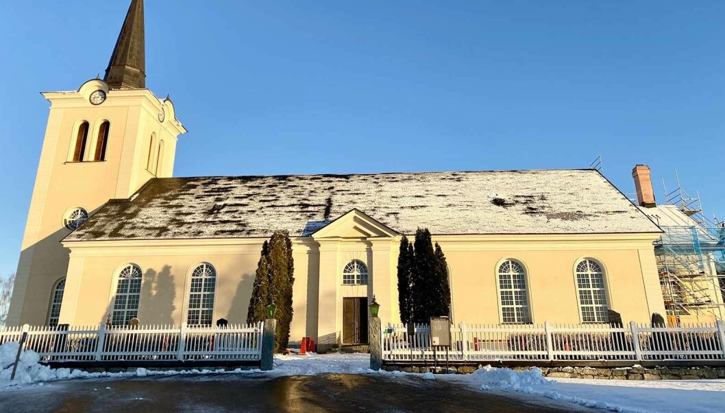 Revsunds kyrka är en av de största i länet med plats för närmare 700 personer. Nu kan den komma att avvecklas.