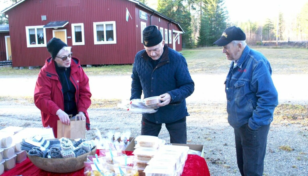 Dagny Brustuen Sjögren hade långväga kunder. Stig Strömstedt och Bill Hanvåg bor på Fjällandet. Bill köpte kubb, Stig satsade på tunnbröd…