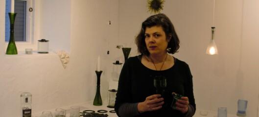 Glasflaskor får nytt liv av Jenny