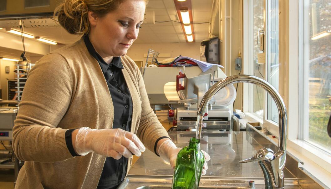 - Vi kommer igen om fem år när tävlingen arrangeras nästa gång 2025, då kommer det att gå bättre, säger Sara Eriksson vattenprovtagare på Vatten och miljöresurs i Berg och Härjedalen.