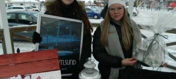 Saga-Li och Bianca ordnade tipsrunda i Strömsund för kvinnors hälsa