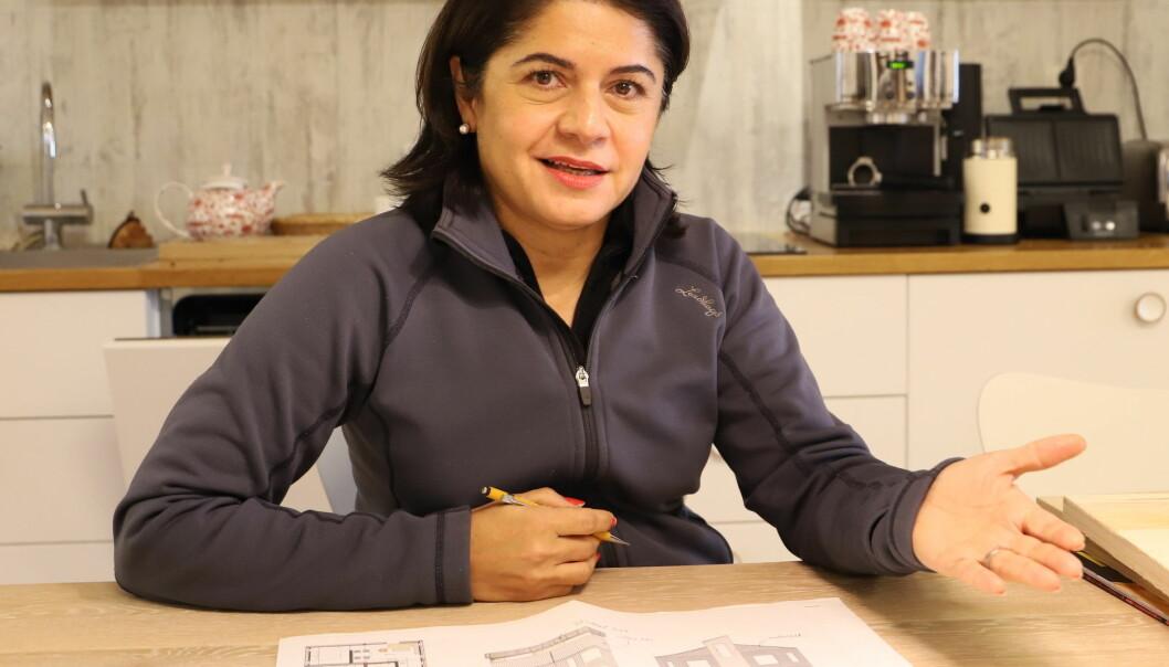 Shideh Shaygan är en av arkitekterna i Duved Five som ska ge huvudgatan i Duved en ny framtida profil med bostäder. Hon är född i Iran och bor numera i Edsåsdalen med kontor i Undersåker.