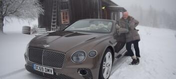 Bentley valde Offerdal för sin nya exklusiva bilmodell