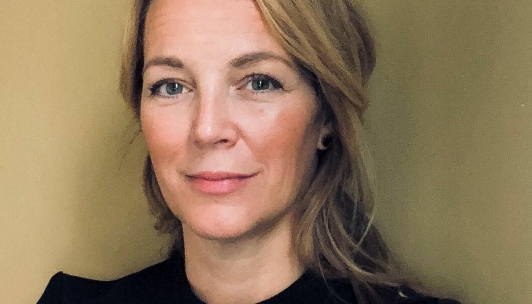 Rymdingenjör Linda Lyckman och hennes familj har valt att bosätta sig i Åflo.