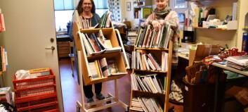 Bibliotekstrassel med lösningar