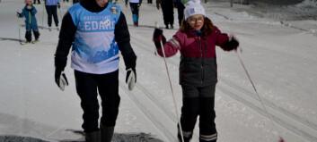 ÖSK Parasport sprider glädje med efterlängtad skidskola