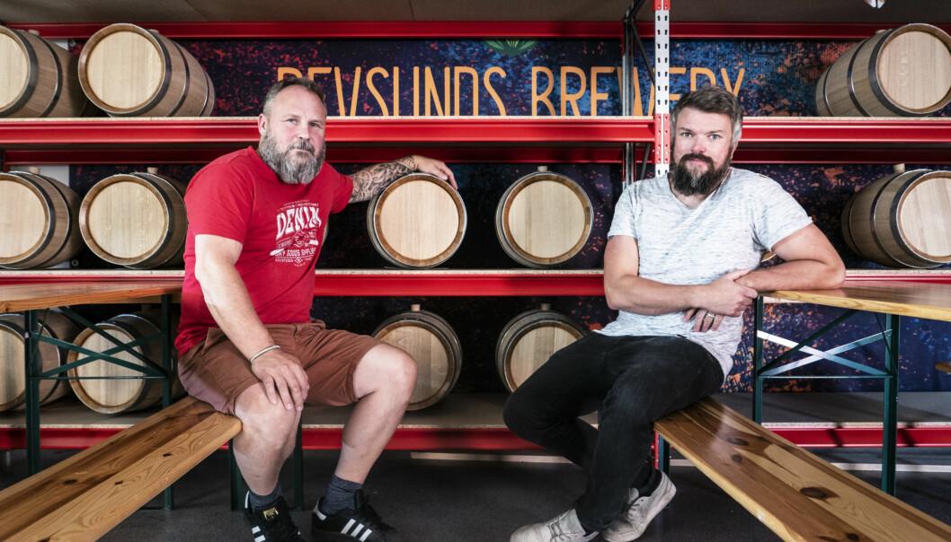 Grundarna av Revsunds Brewery, Tommy Jonasson och Henrik Spansk, satsar hårt och kommer nu att bygga nytt på hemmaplan i Revsund.