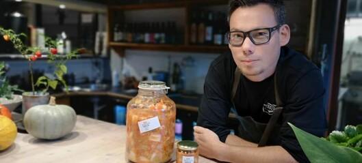 Koreanskt i Åre:  lokalproducerad kimchi