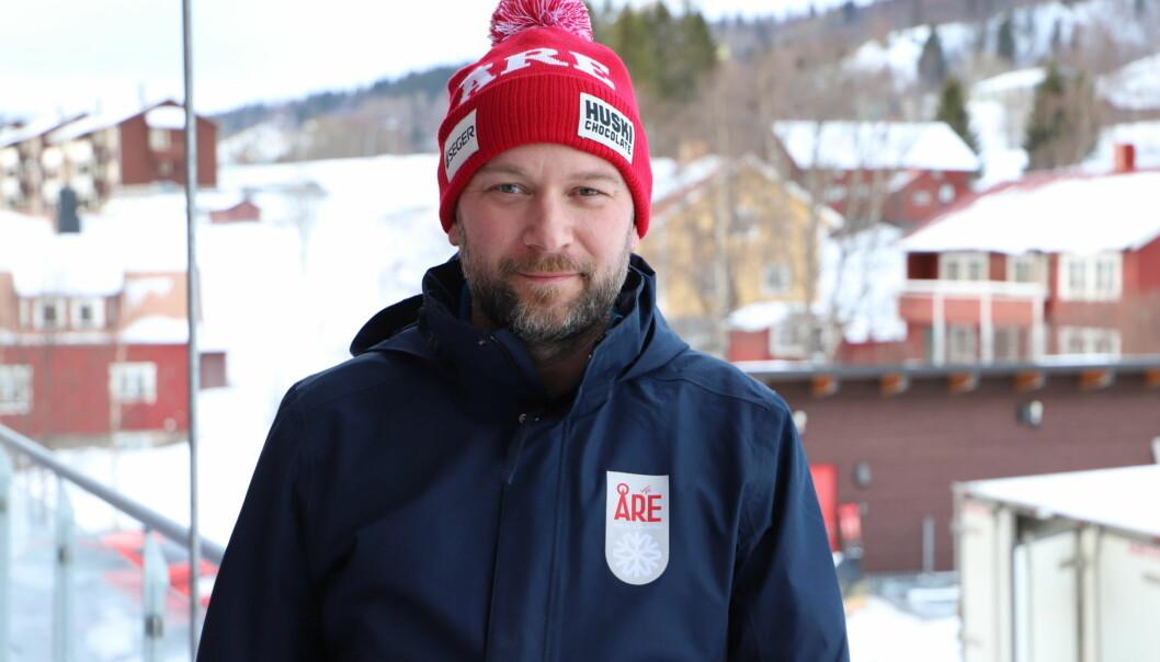Fredrik Broman manager för World Cup har haft hektiska dagar för att förbereda att ta emot 52 tävlande från 18 nationer i samband med slalomtävlingarna den 12 till 13 mars i Åre.