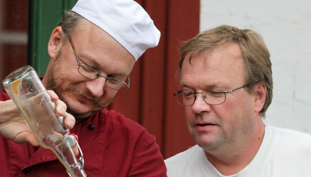 """Markägarna och företagarna Jan-Anders Jarebrand och Bengt-Johnny Johansson är positivt inställda till en vindkraftsetablering utanför Kälarne. """"Vi behöver grön energi"""", säger Bengt-Johnny Johansson. FOTO: Privat."""