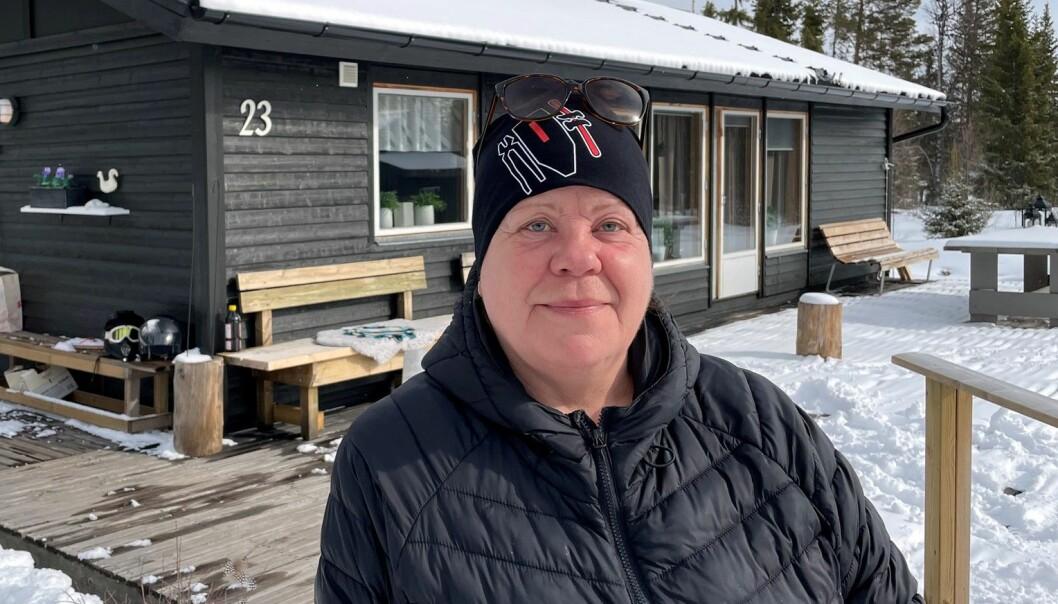 Kommunen måste även tänka på de mindre områden som vill utvecklas, det håller inte att bara säga nej. Gunilla Gustavsson är en av många besvikna stugägare på Skärsjövålen.