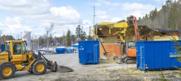 Brandstationen i Brunflo rivs