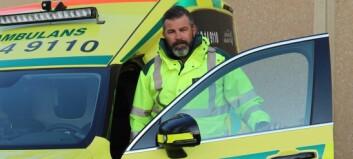 Oro bland ambulanspersonal – många i personalen ovaccinerade