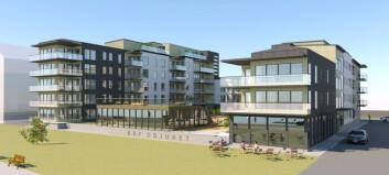 Vinnande förslag till etapp 2.1 av Storsjö Strand