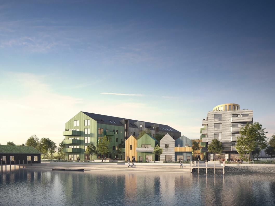 SHH:s förslag till nästa etapp av Storsjö Strand