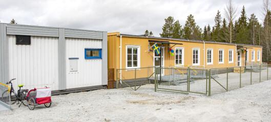 Provisoriska förskolan i Myre öppnade