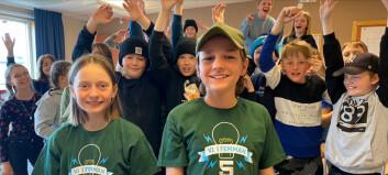 Ås skola vann länsfinalen i Vi i Femman