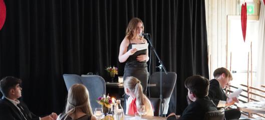 Lokala näringslivet ställde upp för Ragundas nior – ordnade med nobelmiddag på Hotell Hammarstrand