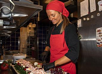 Till vardags jobbar Nathalie Spjälle i kallskänken på Ica i Svenstavik.