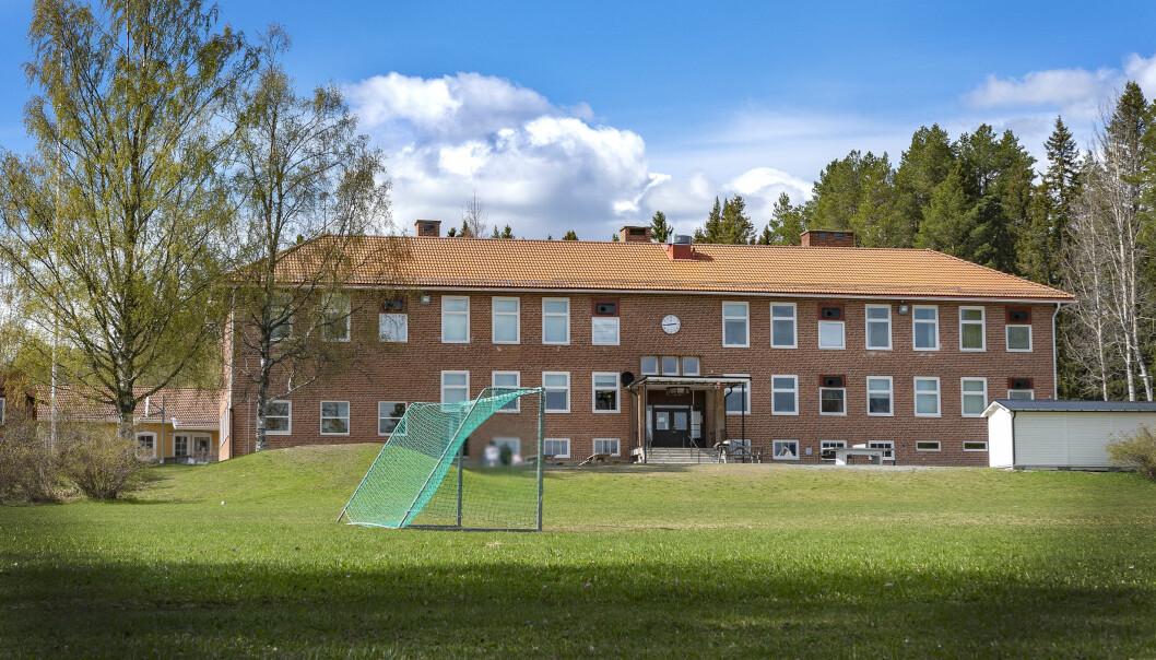 Två yngre elever på Ångsta skola, strax söder om Brunflo, avvek från en lektion och var försvunna under ett par timmar runt lunch på onsdagen. De återfanns välbehållna strax före 13.