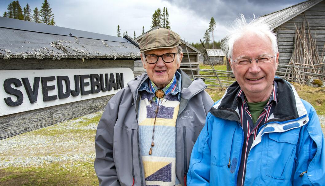 – Vi vill se en samverkan med kommunen och en förening som vi kan liera oss med. En samarbetspartner som är på för att bevara Fäbodvägen, menar Leif Wikner och Bertil Olsson håller med.