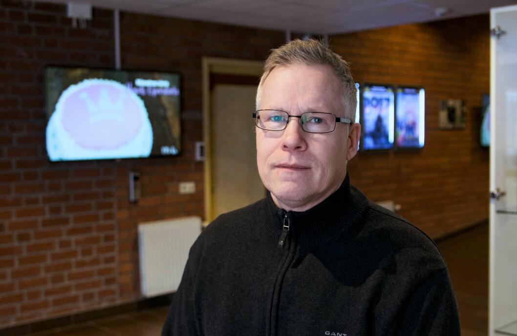 Jörgen Persson aviserar stora neddragningar i Bräcke kommun. 23 miljoner kronor ska sparas bara det här året.