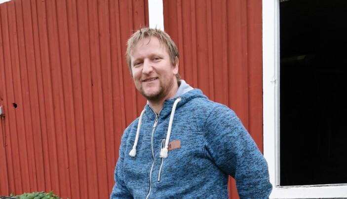 René Schiller driver Håxås Skogstjänst. Foto: Inger Kraft (arkivbild).
