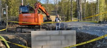 Bygget igång – 18 miljoner kronor investeras i Litsbacken