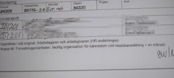 Rektors dotter fick flera anställningsavtal av mamma