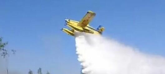 Skogsbranden i Ytterhogdal släckt