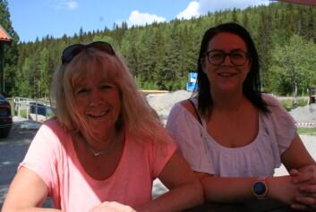 Elisabeth och Emelie Boije driver Krångede café även denna sommar.