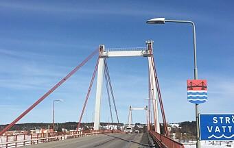 Färre kunder hos OKQ8 när Strömsundsbron renoveras