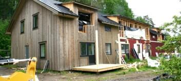 Anders bygger om klassiskt hus i Stugun till nya lägenheter